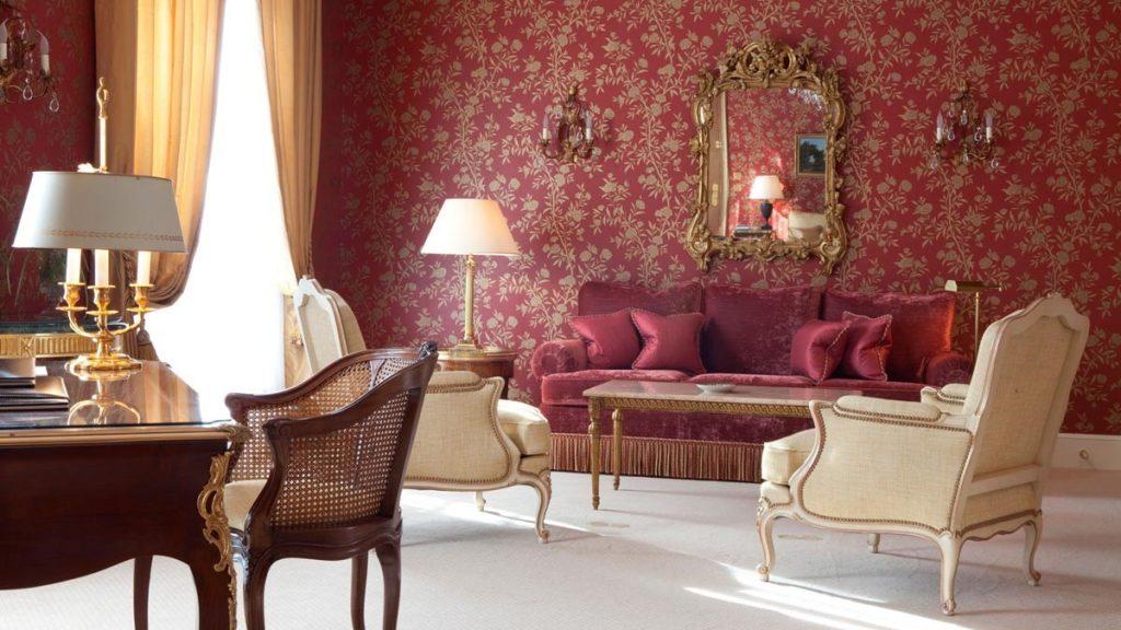 Elegante Suite des Pariser Luxushotels Le Bristol.